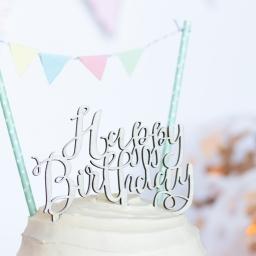 Fearne's Cake Smash Photoshoot