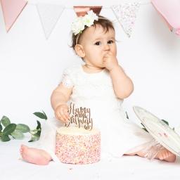 Portrait and Cake Smash Photoshoot